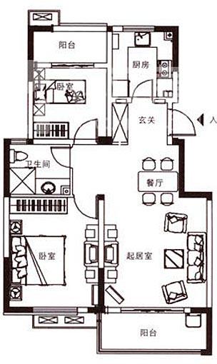 餐厅明厨设计图