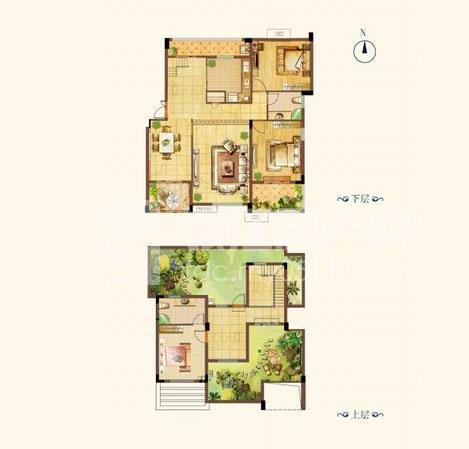 复式小楼玩转两层空间 动静分离享好生活