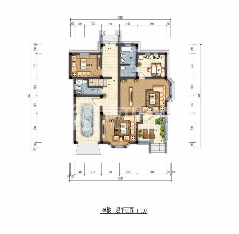楼房设计图一 平面图