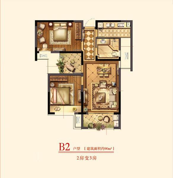 90平小洋房设计 90平米小洋房设计图