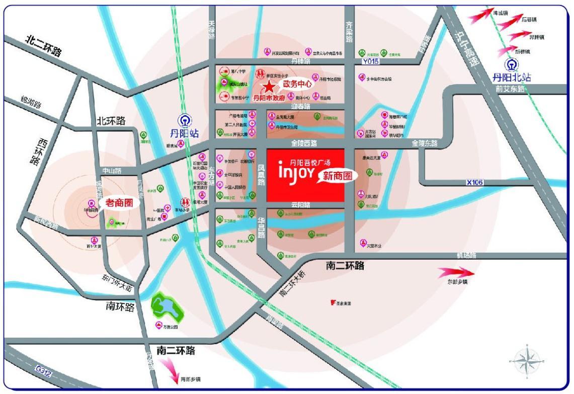 丹阳城市规划图