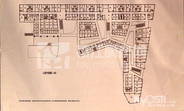 商场3楼平面图